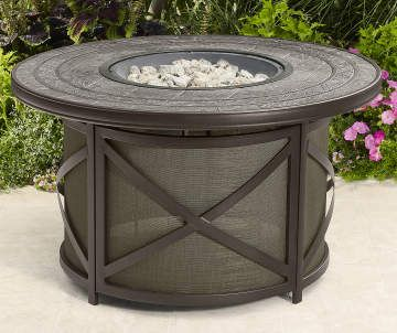 Fire Pits Outdoor Fireplaces Big Lots Round Fire Pit Table