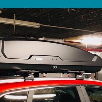 We Can Add 500 Liters Box To Your Car To Stay For Long Time Thule Think Racks Travelegypt Yourhomeonthego Renaultegypt Tripsto Liter Box Car Roof Box