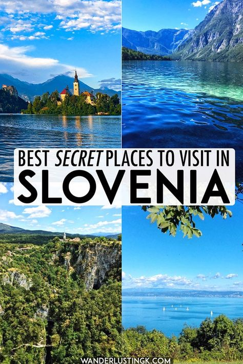 Looking for the best places to visit in Slovenia? Read insider tips for the best places to go in Slovenia with alternatives to Slovenia's most popular places. #slovenia #travel