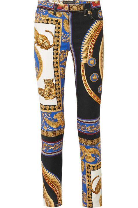 vente moins chère Style magnifique collection de remise Pantalones de mujer de Versace | Ropa en 2019 | Pantalon de ...