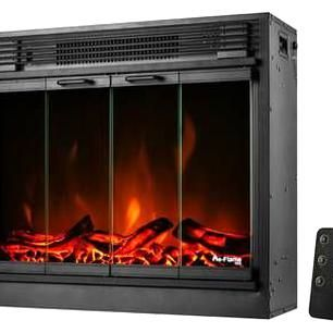 Dimplex 2 4kw Black Micathermic Heater With Electronic Climate Control Heater Dimplex Climate Control