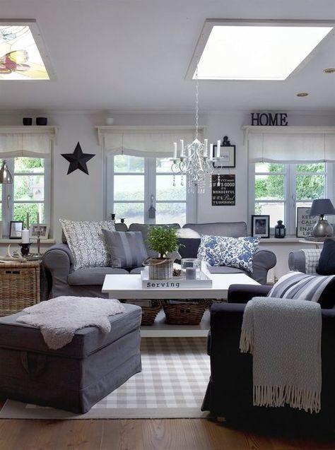 grey Ektorp slipcover for a rustic vintage living room For the - ikea ektorp gra