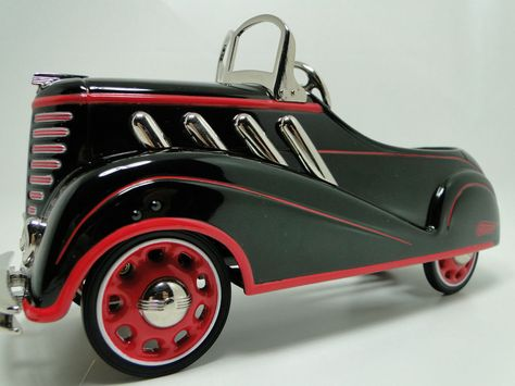 Pedal Car 1930s Duesenberg Hot Rod Rare Sport Vintage Classic Midget Show Model