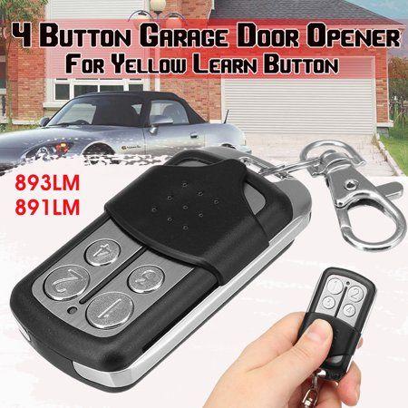 4 Button Mini Garage Door Opener Compatible Remote Security 2 0