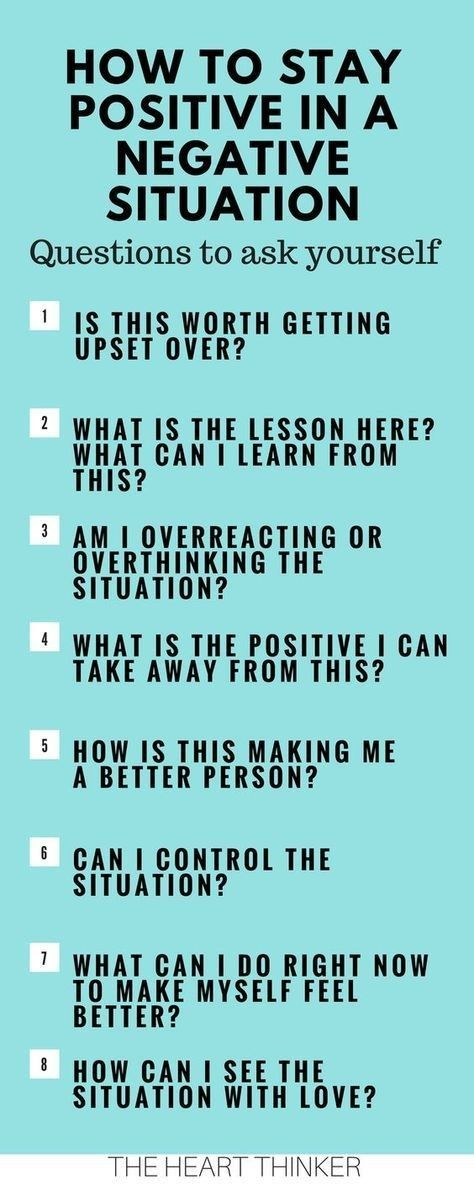 How To Stay Postive In A Negative Situation Positivity Self