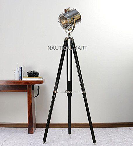 Nauticalmart Designer Floor Standing Nickel Finish Silver Https