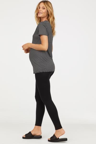 MAMA Jersey Leggings | Nursing clothes, Clothes, Black leggings