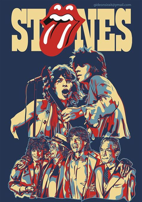 rolling stones on BehanceYou can find The rolling stones and more on our website.rolling stones on Behance Pop Rock, Vintage Rock, Vintage Music, Keith Richards, Rock And Roll Bands, Rock N Roll, Rolling Stones Logo, Rolling Stones Concert, Mick Jagger Rolling Stones