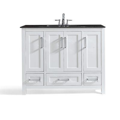 Charlton Home Busby 43 Single Bathroom Vanity Bathroom