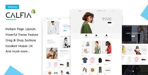 Calfia — Fashion Multipurpose Shopify Theme | Stylelib