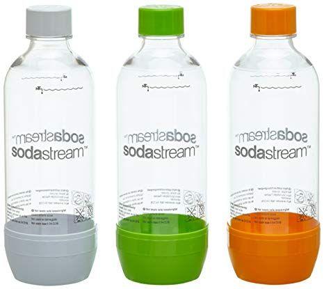 Sodastream Pet Flasche 2 1 Orange Grun Weiss Aus Bruchfestem