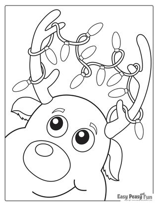 Christmas Coloring Pages | Christmas tree coloring page ...
