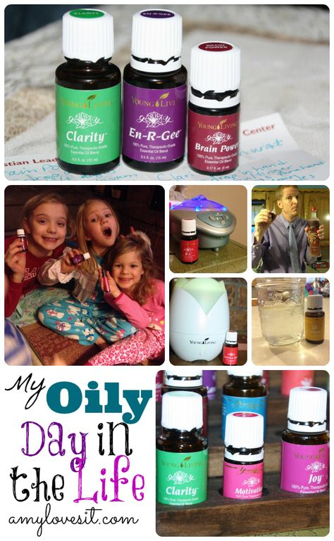 How We Use Our Essential Oils on a Daily Basis || AmyLovesIt.com #oilyfamilies #dayinthelife