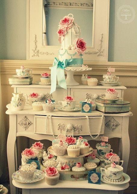17 Best Images About Wedding Cake Table Settings On Pinterest