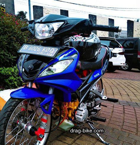 Modifikasi Jupiter Mx 2007 Modif Simple Drag Bike Bike