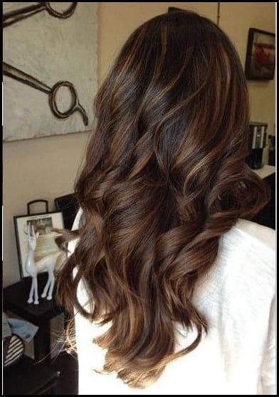 Frische Balayage Braune Haare Ideen Balayage Braunes Haar Haar Meine Frisuren Braune Haare Lange Braune Haare Balayage Braune Haare