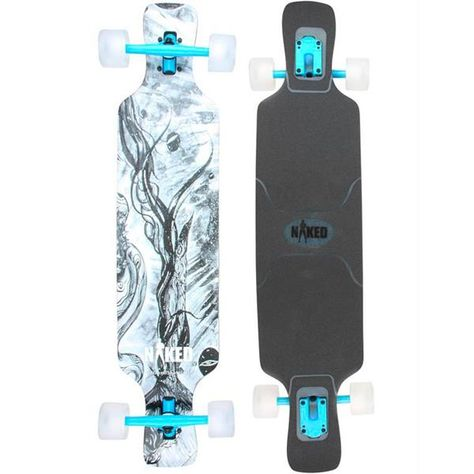 Naked Ghost Rider Longboard