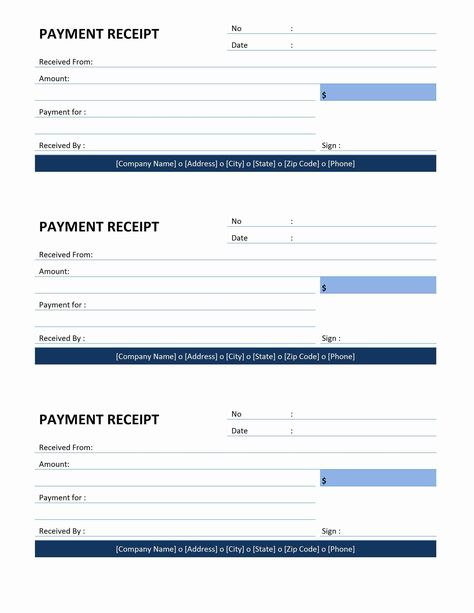 Receipt Template Download Free Forms Samples For Pdf Word