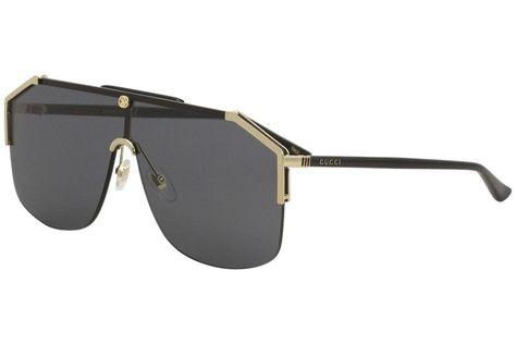 771fe123fe0 Gucci gg0291s 100% Authentic Mens Sunglasses Gold 001 (eBay Link ...