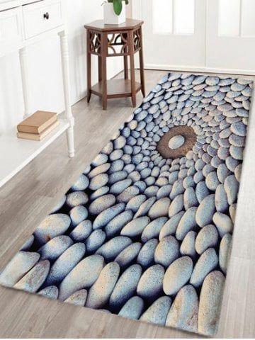 Pebbles Print Flannel Skidproof Area Rug Rugs On Carpet Grey Floor Rug Rugs