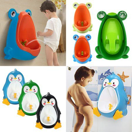 Cute Frog Penguin Potty Training Urinal Toilet Urine Train Froggy Potty For Children Kids Toddler Baby Boys Portable Pla Potty Training Urinal Cute Frogs Potty