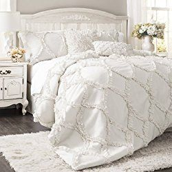 10 Cute White Bedding Sets That Won T Break Your Budget Shabby Chic Decor Bedroom Chic Bedroom Decor Comforter Sets