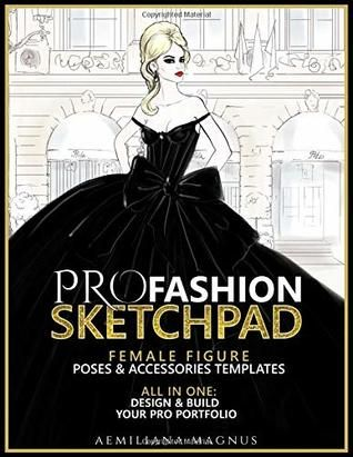 PDF DOWNLOAD] PRO Fashion Sketchpad: Female Figure Poses