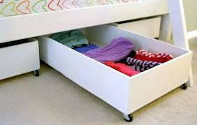 Under Bed Storage These Clever Under The Bed Storage Ideas Will Help You Store More Than Just Dust Bunnies Under Under Bed Storage Dorm Diy Under Bed Drawers