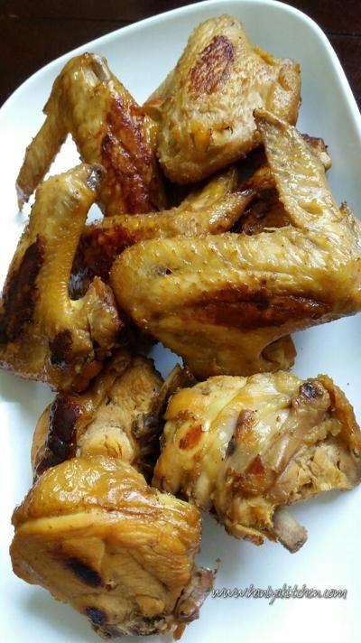 Resep Ayam Bakar Bumbu Bacem Resep Ayam Resep Resep Makanan