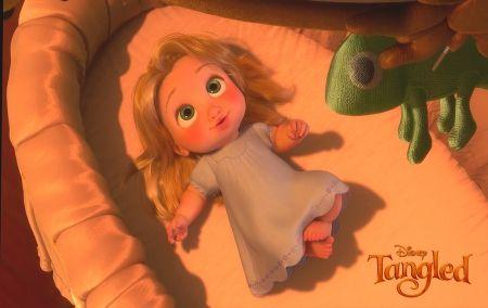 Baby Rapunzel - Desktop Nexus Wallpapers