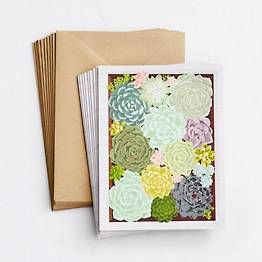 Succulent Stationery Set With Images Stationery Set