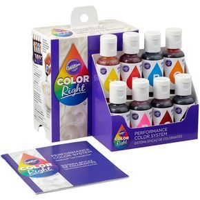 Purchase the Wilton® Color Right™ Performance Color System ...