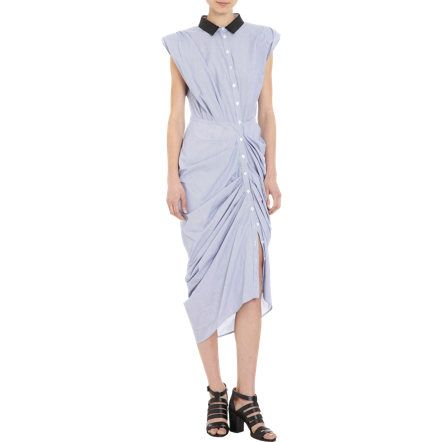 Boy. by Band of Outsiders Sleeveless Striped Shirt Dress at Barneys.com