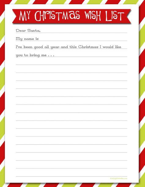 Christmas List Maker.Pin On Delightful Order Blog Posts