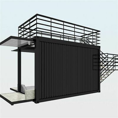 Shipping Container Kiosk Cafe Coffee 160 Sq Ft Container House Container Shop Shipping Container
