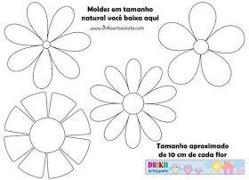 Szablony Na Rozne Okazje Paper Flower Patterns Flower Template Scrapbook Flowers