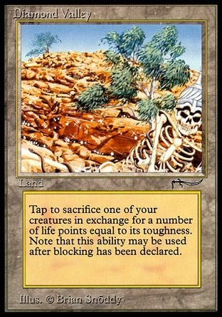 One Of The Most Expensive Cards From Arabian Nights Diamond