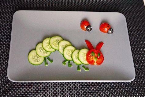 Gurkenraupe von moosmutzel311 | Chefkoch #einfach #lustig #schnell #vegetarisch #vegetarischlustig