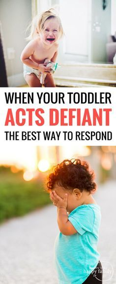 When your toddler acts defiant, here are the hidden reasons why