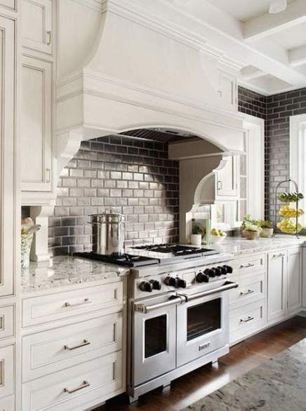 Kitchen Backsplash Tile Black Range Hoods 64 Ideas Kitchen In