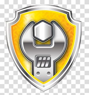 Gray Open Wrench Logo Bulldog Rubble Toy Architectural Engineering Pet Tag Patrol Transpare Paw Patrol Decorations Paw Patrol Centerpiece Paw Patrol Vehicles
