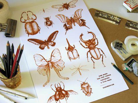 DRESS IT UP Summer Ladybirds en vol Nouveauté Boutons