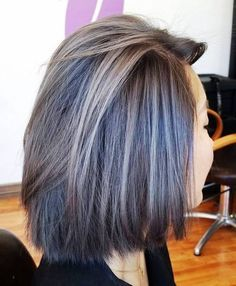 Transitioning to grey. Grey Hair. Facebook: Hair by Shelby - Tryst ...