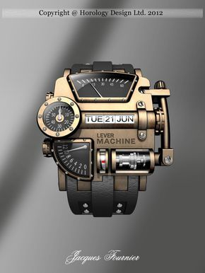 Steampunk concept design watch www.steampunkarti… Steampunk concept design watch www.