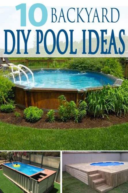 Super Backyard Pool Ideas On A Budget Easy Diy 58 Ideas Budget