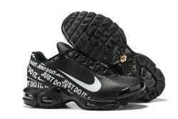 Nike TN Air Max Plus Just Do It Black