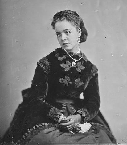 Matthew Brady photo Miss Levinson, dated between 1860-1865 Source NARA via Flickr Commons