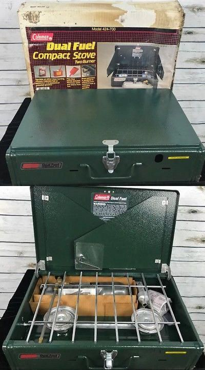 Camping Stoves 181386: Vintage Coleman 424-700 Gas 2 Dual Fuel Two
