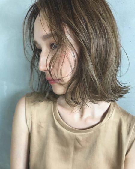前髪なしミディアム おすすめ人気ヘアカタログ5選 短い髪のための