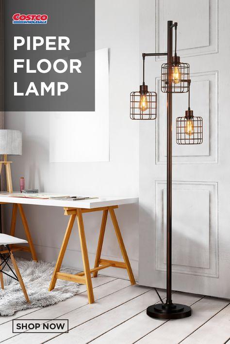 Piper Floor Lamp Floor Lamp Lamp Led Light Bulbs